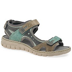 Josef Seibel - Green 'Stefanie 23' womens casual sandals