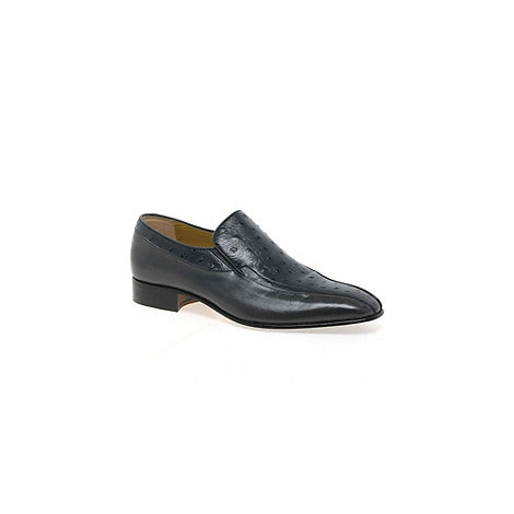 Paco Milan - Grey +Alicante+ Leather Slip On Shoes