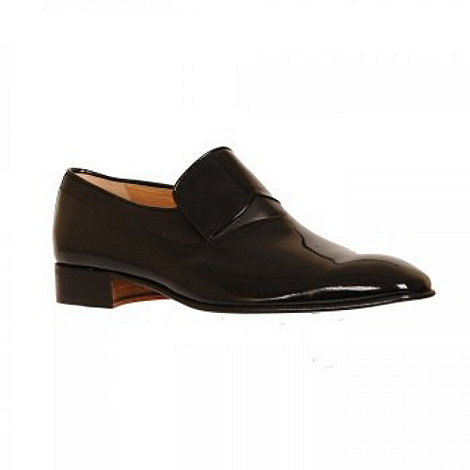 Paco Milan - Black patent +Murcia+ Formal Slip On Shoes