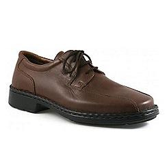 Josef Seibel - Brown Burgess Wide Fit Shoes