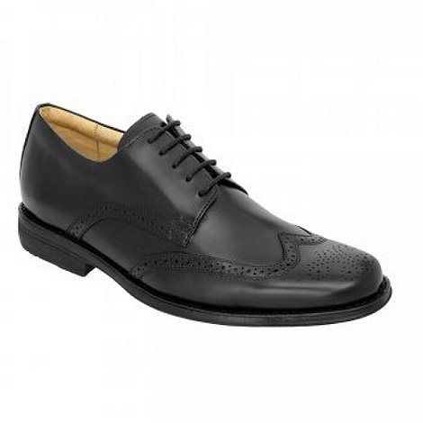 Anatomic Gel - Black manaus brogues