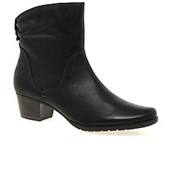 Marco Tozzi - Black 'flynn' womens ankle boots