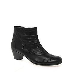 Rieker - Black 'Crisp' Womens Ankle Boots