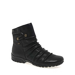 Rieker - Black 'Minesota' Womens Casual Ankle Boots