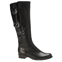 Gabor - Black 'Astoria' womens long boots