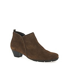 Gabor - Tan 'trudy' womens ankle boots