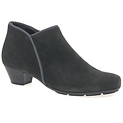 Gabor - Grey suede 'Trudy' womens ankle boots