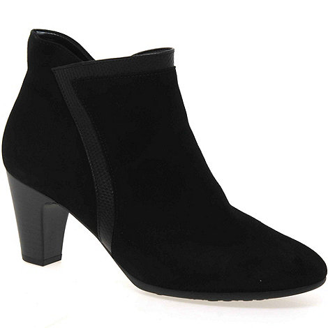 Gabor - Near black +encounter+ womens ankle boots