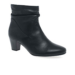 Gabor - Black affair womens ankle boots