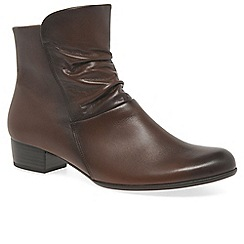 Gabor - Brown 'Jensen' Womens Ankle Boots