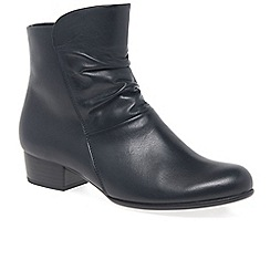 Gabor - Navy 'Jensen' Womens Ankle Boots