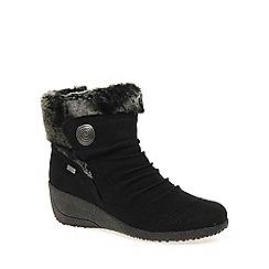 Rieker - Black 'Fern' Womens Ankle Boots