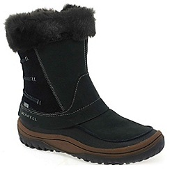 Merrell - Black 'decora minuet' womens waterproof boots