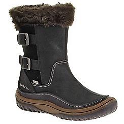 Merrell - Black 'Decora Chant' Womens Waterproof Calf Length Boots