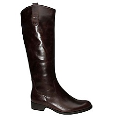 Gabor - Brown 'Brook M' Womens Long Boots