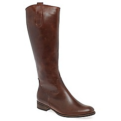 Gabor - Tan 'Brook M' womens long boots