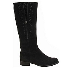 Gabor - Black 'Blessing' womens long boots