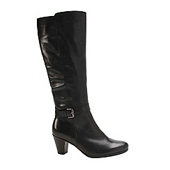 Gabor - Black 'Anchora' womens long boots