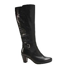 Gabor - Black 'Anchora' womens long boots