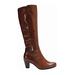 Gabor - Brown 'Anchora' womens long boots