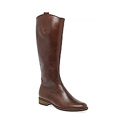 Gabor - Brown 'Brook' womens long boots