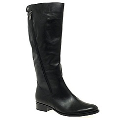 Gabor - Black 'Dawson M' Womens Long Boots