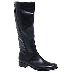 Gabor - Dark blue 'Dawson M' Womens Long Boots
