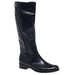 Gabor - Dark blue 'Dawson M' Womens Long Boots
