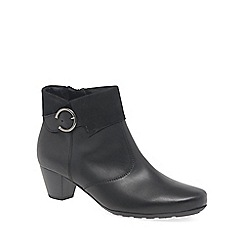 Gabor - Black 'Cougar' Womens Ankle Boots