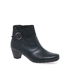 Gabor - Dark blue 'Cougar' womens ankle boots