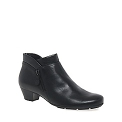Gabor - Black 'Emilia' Womens Ankle Boots