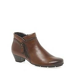 Gabor - Brown 'Emilia' Womens Ankle Boots