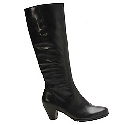 Gabor - Black 'Ceylon' womens long boots