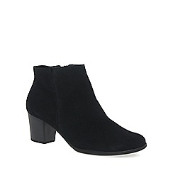 Gabor - Black 'Greene' Womens Ankle Boots