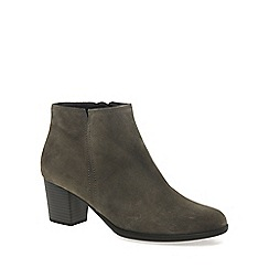 Gabor - Light grey 'Greene' womens ankle boots