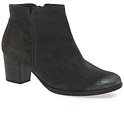 Gabor - Grey 'Greene' Womens Ankle Boots