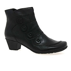 Gabor - Black 'Georgie' Womens Ankle Boots