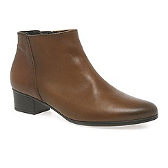 Gabor - Brown 'Fresco' Womens Ankle Boots