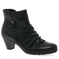 Gabor - Black Lexy Womens Ankle Boots