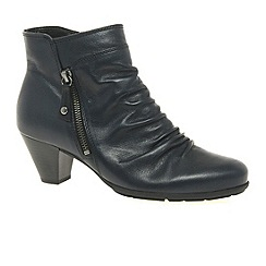 Gabor - Navy Lexy Womens Ankle Boots