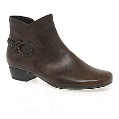 Gabor - Brown 'Grove' Womens Ankle Boots