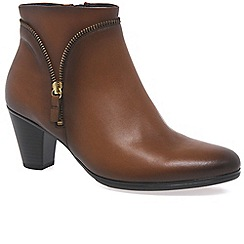 Gabor - Brown 'Onida' Womens Ankle Boots