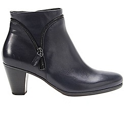 Gabor - Dark blue 'Onida' womens ankle boots