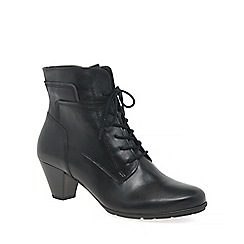 Gabor - Black 'National' Ladies Ankle Boots