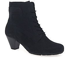 Gabor - Dark blue 'National' ladies ankle boots