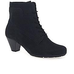 Gabor - Dark blue 'National' ladies ankle boots