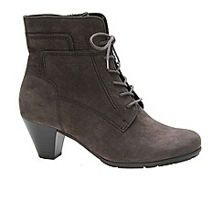 Gabor - Grey 'National' Ladies Ankle Boots