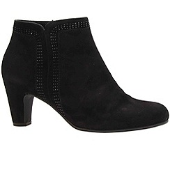 Gabor - Black 'Parade' Womens Ankle Boots