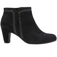 Gabor - Navy 'Parade' Womens Ankle Boots