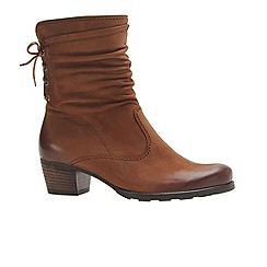 Gabor - Brown Sonic Ladies Nubuck Boots